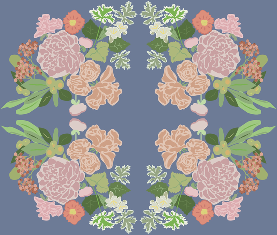 Summerflower fabric by patterista on Spoonflower - custom fabric