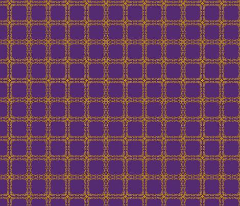 Royal Grid Love fabric by vivaeris_designs on Spoonflower - custom fabric