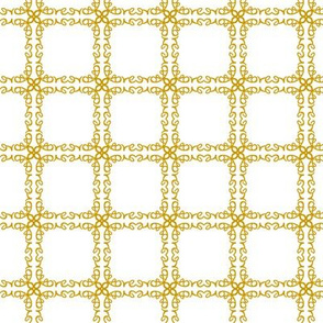 Gold Grid Love