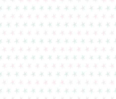 starfish-01 fabric by graceandcruzdesigns on Spoonflower - custom fabric