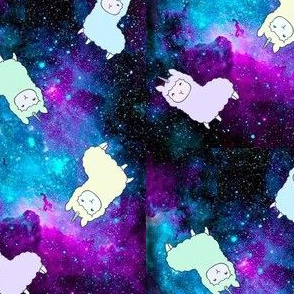 Llamas in Space