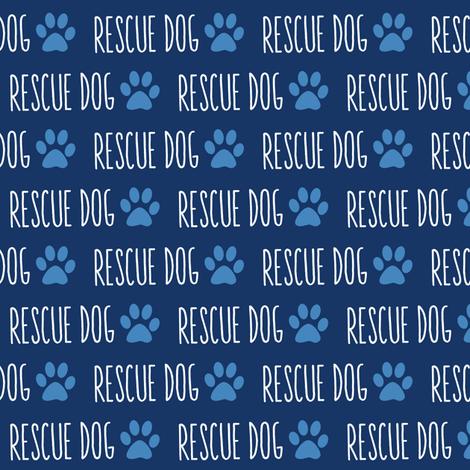 Rescue Dog fabric by brainsarepretty on Spoonflower - custom fabric