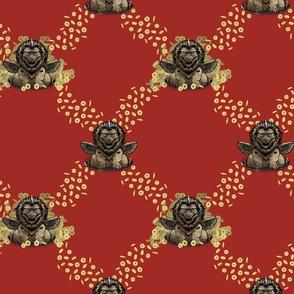 tian liu coins pattern