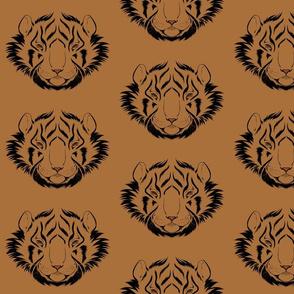 Kabuki animal, Tiger