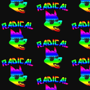 Rainbow Wolf
