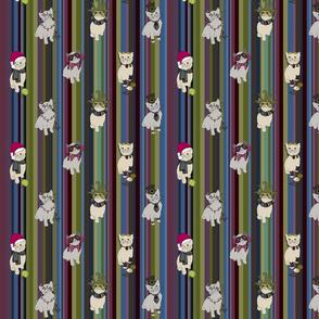 Petone Winter Market Poster Kitties