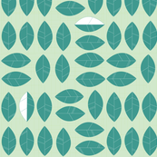 Waikiki Palm Leaves (Celadon)