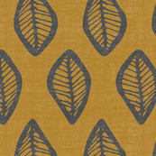 Ethnic Leaves - Gold