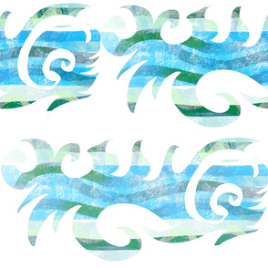 Hawaiian Day Splash 1 by Edward Huse