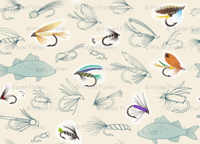 Fishing Flies (smaller scale)