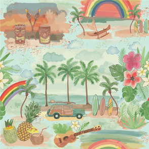 Tiki Surf Beach Party
