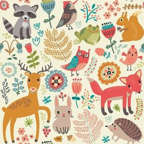 Whimsical Woodland Creatures