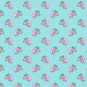 pixel unicorns