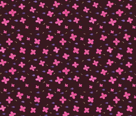 flowerz fabric by weronikahdesign on Spoonflower - custom fabric