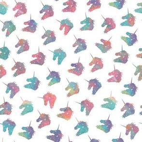 Watercolor Rainbow Unicorn