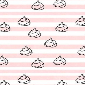 Happy poop and pink stripes