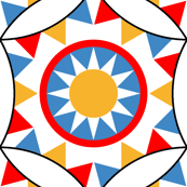 06501830 : circus bunting + ring of sunshine
