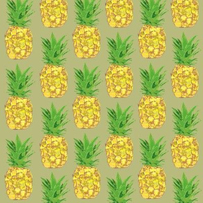 Pineapple Pop Khaki