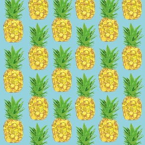 Pineapple Pop Blue