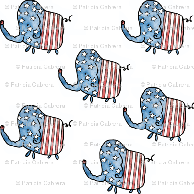 4th of July Elephants