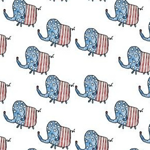 4th of July Elephants
