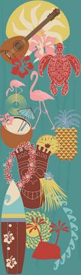 Hawaii 1950s Tiki_retro_