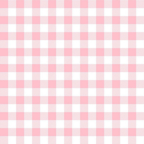 gingham fabric // buffalo plaid design nursery baby design - pink