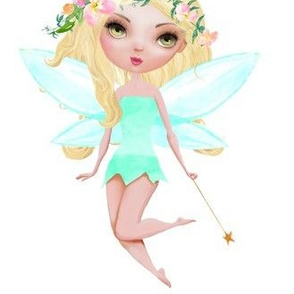 "6.5""  Floral Fairy /  Mix & Match"