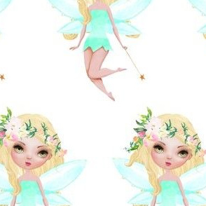 "4"" Floral Fairy / Mix & Match"