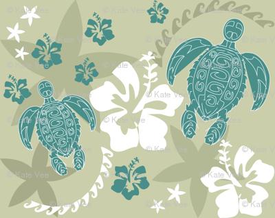 Turtles Around the Islands retro