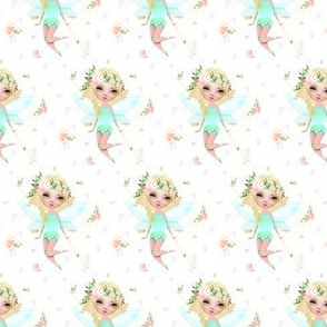 "1.9"" Floral Fairy / Mix & Match with Flowers"