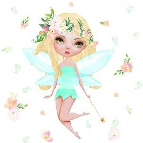"6"" Floral Fairy / Mix & Match / with Flowers"