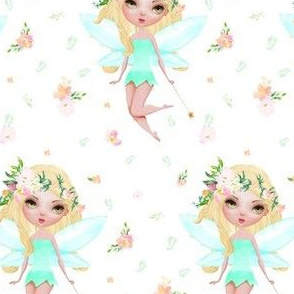 """4"""" Floral Fairy / Mix & Match / with Flowers"""
