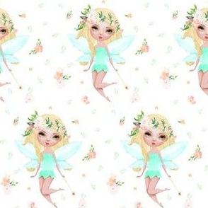 "3"" Floral Fairy / Mix & Match / with Flowers"