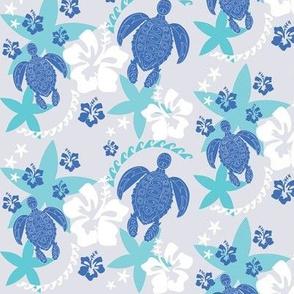 Island Turtles lagoon blues