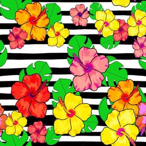 Modern tropical stripe