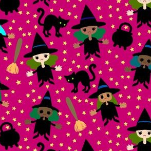 Halloween Mini Witches