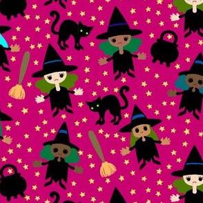 Halloween Mini Witches