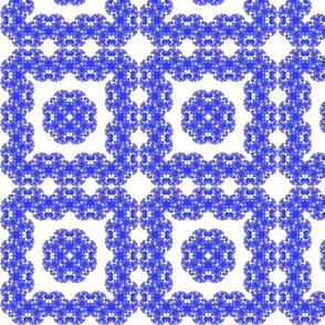 Fractal Delft Tile