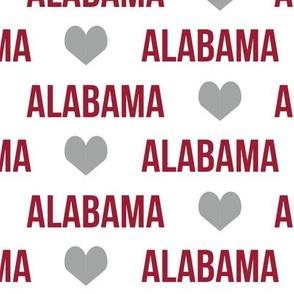 alabama fabric alabama text words baby nursery football college university fabric