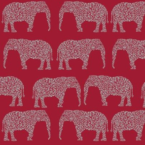 elephant fabric geo elephant design grey elephant fabric bama, alabama