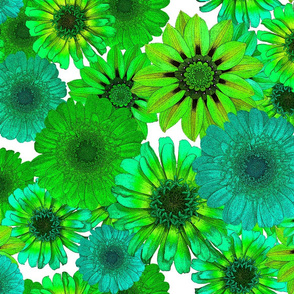Nothing But Green Flowers