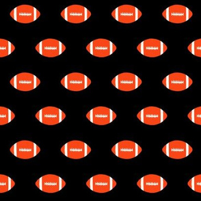 football orange and blue florida minimal college sports fabric pattern