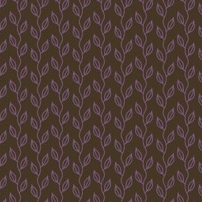 small vines (purple on brown)