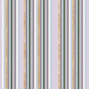 Chalk Stripe Heather Field