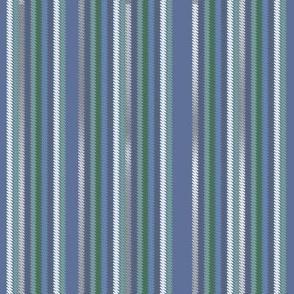 Chalk Stripe Denim