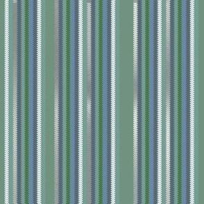 Chalk Stripe Greenery