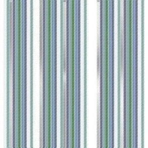 Chalk Stripe Snow Cap