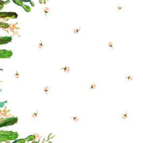 "56""x36"" Cactus Garden / NOT A REPEAT PRINT"