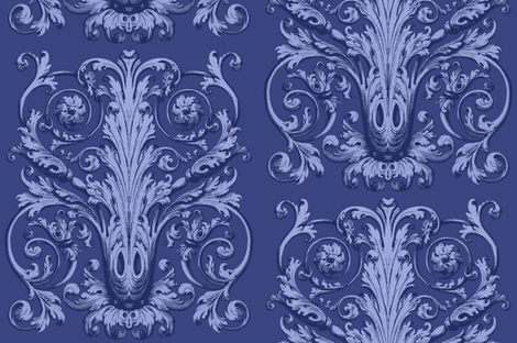 Bellamy ink fabric by lilyoake on Spoonflower - custom fabric